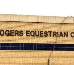 Will Rogers Equestrian Center Architectural Lettering